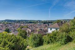 Paysage urbain de Schaffhausen Image stock