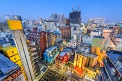 Paysage urbain de Shinjuku Image libre de droits