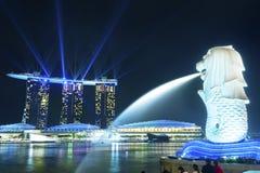 Paysage urbain de Singapour photos libres de droits