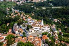 Paysage urbain de Sintra Photos libres de droits