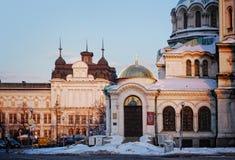 Paysage urbain de Sofia Image libre de droits