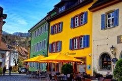 Paysage urbain de Staufen im Breisgau Schwarzwald Allemagne Image stock