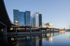 Paysage urbain de Stockholm en Suède Photo stock