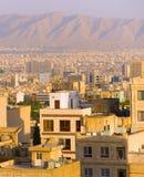 Paysage urbain de Téhéran l'iran Photographie stock libre de droits