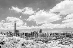 Paysage urbain de Taïpeh Photographie stock