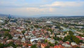 Paysage urbain de Tbilisi, la G?orgie image libre de droits