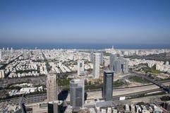 Paysage urbain de Tel Aviv Photographie stock