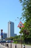 Paysage urbain de Tipical à Bucarest Photographie stock libre de droits