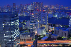 Paysage urbain de Tokyo photos libres de droits