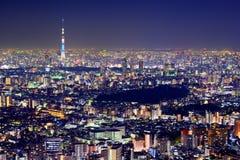 Paysage urbain de Tokyo images stock