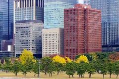 Paysage urbain de Tokyo, Japon Images stock