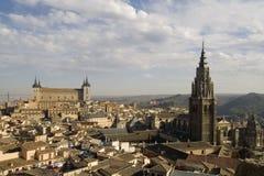 Paysage urbain de Toledo Images libres de droits
