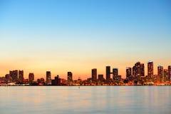 Paysage urbain de Toronto Photo stock