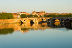 Paysage urbain de Toulouse Photo libre de droits