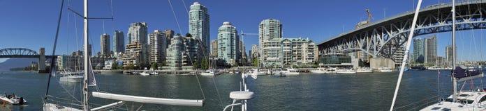 Paysage urbain de Vancouver Photos stock