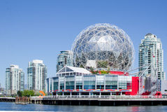 Paysage urbain de Vancouver, Colombie-Britannique, †« False Creek de Canada Photo stock