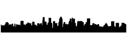Paysage urbain de vecteur illustration libre de droits