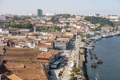 Paysage urbain de Vilanova de Gaïa image libre de droits