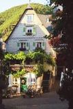 Paysage urbain de village Beilstein image libre de droits