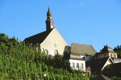 Paysage urbain de village Beilstein photo libre de droits