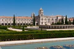 Paysage urbain de vue de ville de Lisbonne Photos stock