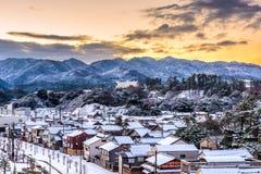 Paysage urbain de Wajima, Japon images stock