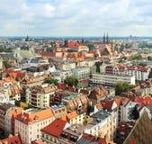 Paysage urbain de Wroclaw photos libres de droits