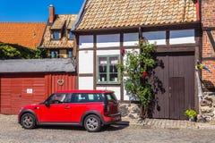 Paysage urbain de Ystad Image stock