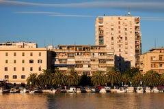 Paysage urbain de Zadar Photographie stock