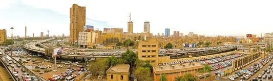Paysage urbain du Caire Image libre de droits
