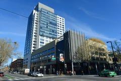 Paysage urbain du centre de San Jose, la Californie, Etats-Unis Photographie stock