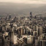 Paysage urbain du Liban photographie stock