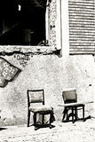 Paysage urbain - durée de ghetto Images stock