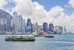 paysage urbain Hong Kong photo stock