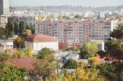 Paysage urbain Immeubles typiques photographie stock libre de droits