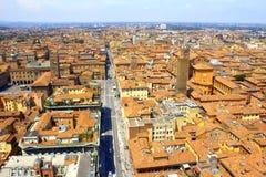 Paysage urbain Italie de Bologna Photographie stock