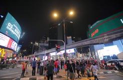 Paysage urbain Kuala Lumpur Malaysia de Bukit Bintang image libre de droits