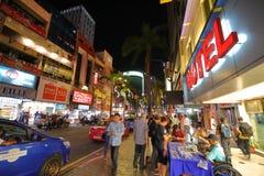 Paysage urbain Kuala Lumpur Malaysia de Bukit Bintang photographie stock libre de droits