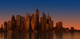 Paysage urbain moderne en journée. Fermez-vous vers le haut de la vue. Photo libre de droits