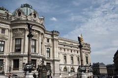 Paysage urbain parisien d'architecture classique et de bâtiments Images libres de droits