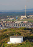 paysage urbain Roumanie de brasov images libres de droits
