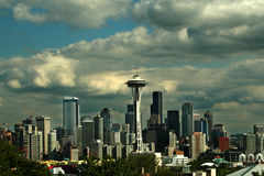 paysage urbain Seattle Photo libre de droits