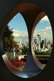 paysage urbain Seattle Photos libres de droits