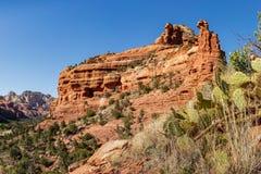Paysage urbain - Sedona, Arizona, Etats-Unis Images libres de droits