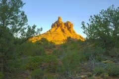 Paysage urbain - Sedona, Arizona, Etats-Unis Photographie stock libre de droits