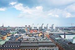 Paysage urbain Stockholm Suède photo stock
