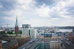 Paysage urbain Stockholm Suède Photographie stock