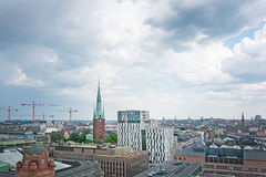 Paysage urbain Stockholm Suède Images stock