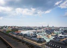 Paysage urbain Stockholm Suède image libre de droits