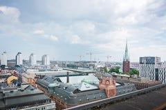 Paysage urbain Stockholm Suède photographie stock libre de droits